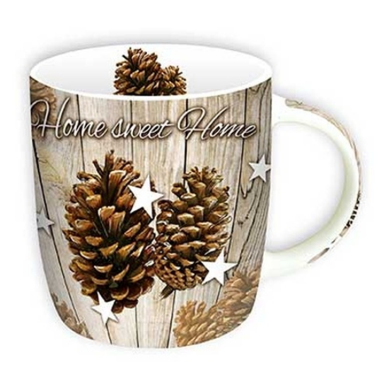 Home Sweet Home porcelán bögre 350ml