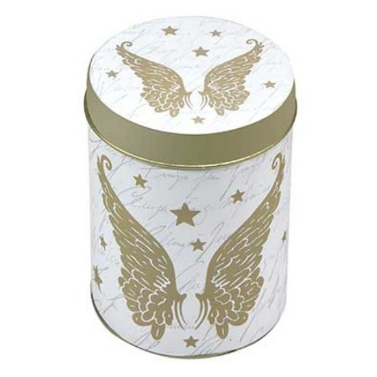 T.M.1841732 Golden Wings konyhai fémdoboz 76x99mm