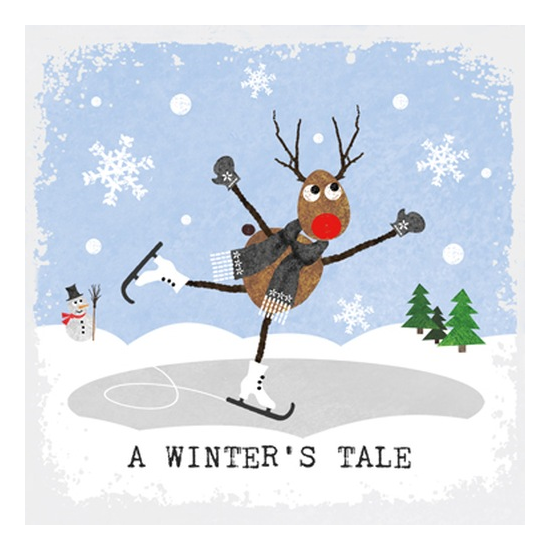 A Winter's Tale Papírszalvéta 33x33cm, 20 db-os