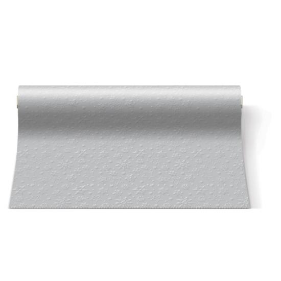 Inspiration Winter Flakes silver papír asztali futó 480x33cm