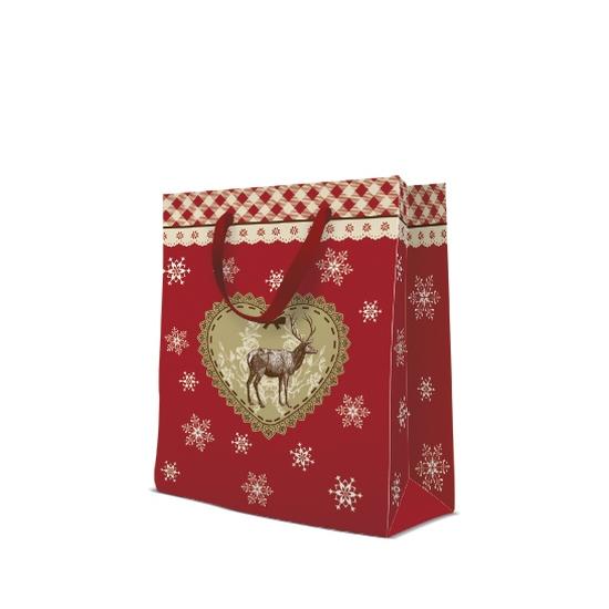 Loving Christmas papír ajándéktáska large 26,5x33,5x13cm