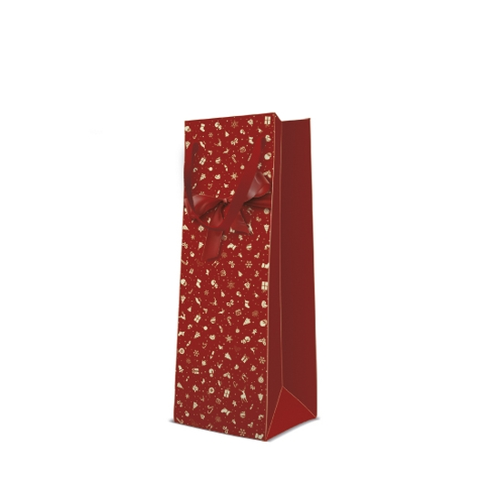 Lovely Gift papír ajándéktáska italos 12x37x10 cm