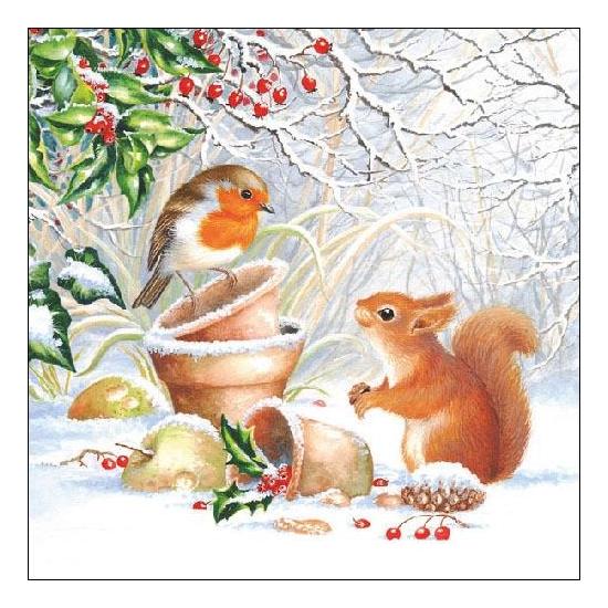 Winter Picture  papírszalvéta 33x33 cm, 20 db-os
