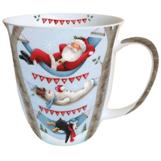 Relaxing Christmas porcelán bögre 0,4l