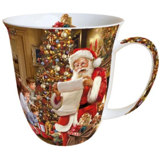 Christmas Eve porcelán bögre 0,4l