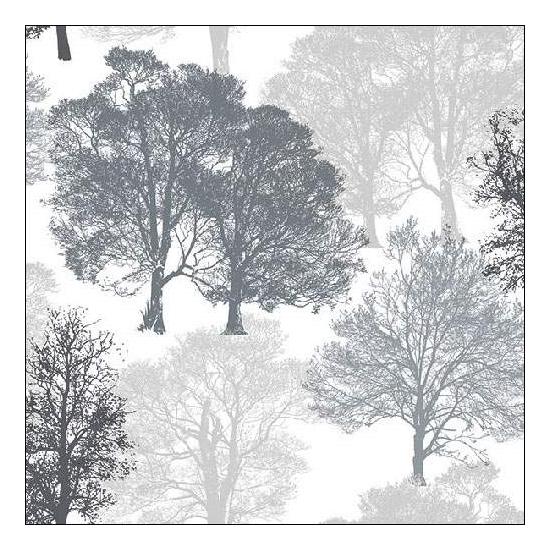 Skeleton Tress Grey Papírszalvéta 33x33 cm, 20 db-os