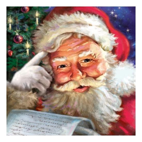 AMB.33305050 Remember Santa! papírszalvéta 33x33cm,20db-os