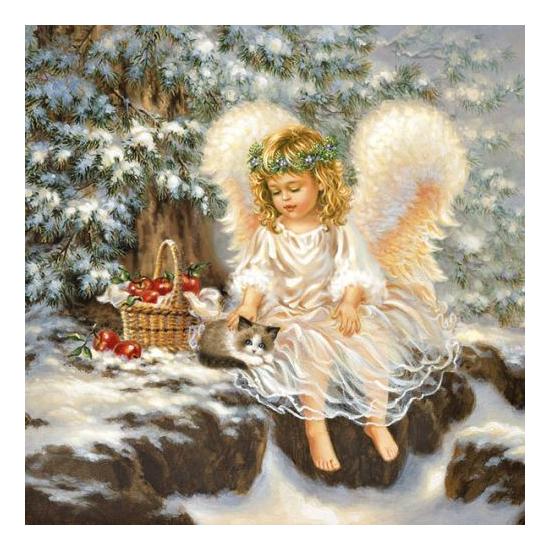 Little Angel papírszalvéta 33x33 cm, 20 db-os