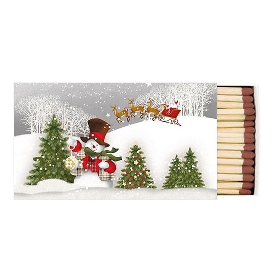 AMB.39510500 Happy Holidays gyufa