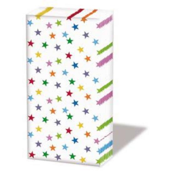 AMB.32203715 Stars and Trees Mix papírzsebkendő,10db-os