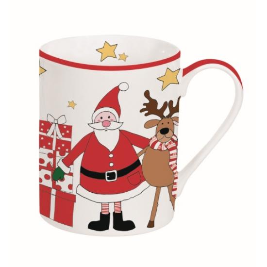 Télapós Bögre Dobozban - Santa & Friends